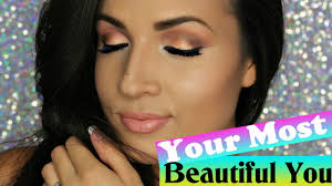 glam daytime makeup look your most