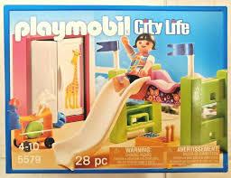 Complete Playmobil 5579 Kids Room Children Loft Bed Slide Toys Girl Closet 5574 For Sale Online Ebay
