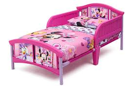 Delta Children Disney Minnie Mouse Plastic Toddler Bed Ashley Furniture Homestore