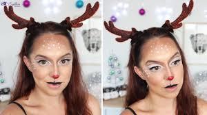 cute rudolph reindeer makeup