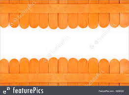 Safety And Security Orange Wooden Fence On White Space Background Stock Picture I3298322 At Featurepics