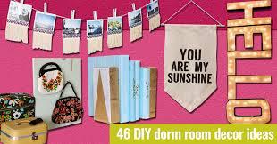 46 Best Diy Dorm Room Decor Ideas Diy Projects For Teens