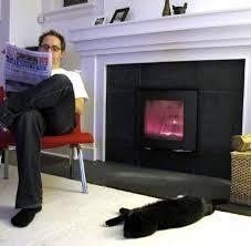 how a fireplace insert cut my heating