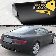 Amazon Com Autospeed Matte Flat Black Vinyl Film Wrap Sticker Decal Bubble Free Air Release 72 X 60 Automotive