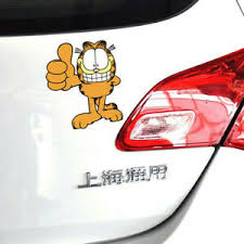 Garfield Thumbs Up Cute Decal Reflective Windshield Stickers Car Stickers 1pc Ebay