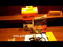 Gallagher Wrangler M100 Fence Charger Youtube
