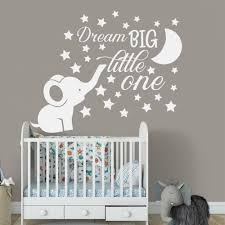 Elephant Nursery Wall Decal Baby Boy Room Quote Wall Vinyl Stickers Home Decor Best Home Decor