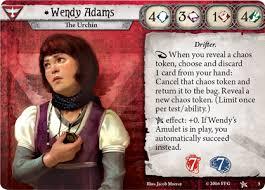Wendy Adams · ArkhamDB