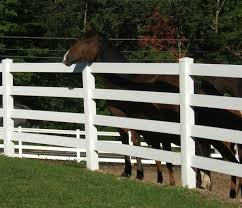 Vinyl Horse Fence Farm Fence Split Rail Fence Fast Shipping