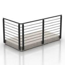 Fence N280712 3d Model Gsm 3ds For Interior 3d Visualization Gates Fences