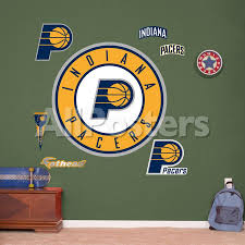 Indiana Pacers Alternate Logo Wall Decal Allposters Com