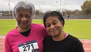 Emerging athlete launches her track career at 78, coached by her ...