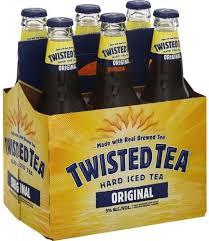 twisted tea original hard iced tea 6