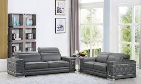 genuine italian leather sofa set 2 pcs