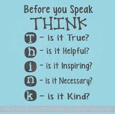 Sale Before You Speak Think Wall Decal Letters For Children S Playroom Decor Black