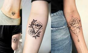 Geometryczne Tatuaze 15 Pieknych Wzorow Dla Dziewczyn
