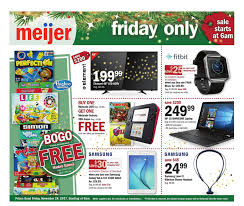 meijer black friday ad 2017