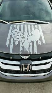 Eagle Flag American Hood Decal Large Auto Graphic Fits Jeep Truck Car Or Trailer 15 95 Picclick