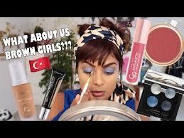 indian tries turkish makeup you