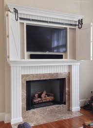 custom fireplace mantel surround in