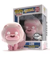 Funko Pop Lion Flocked Exclusive Steven Universe Artoyz