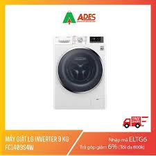 Máy giặt LG Inverter 9 kg FC1409S4W Mẫu 2019