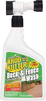 Amazon Com Rust Oleum Krud Kutter 303279 Deck Fence Wash 32 Oz Home Improvement