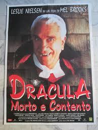 Dracula Morto E Contento Leslie Nielsen Mel Brooks 2f Cartaz - R ...
