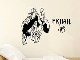 Amazing Spiderman Personalized Vinyl Wall Decal Decals By Droids