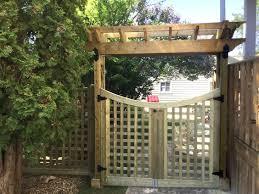 Arbors Over Gates Turn Backyards Into Hidden Sanctuaries Ozco Building Products