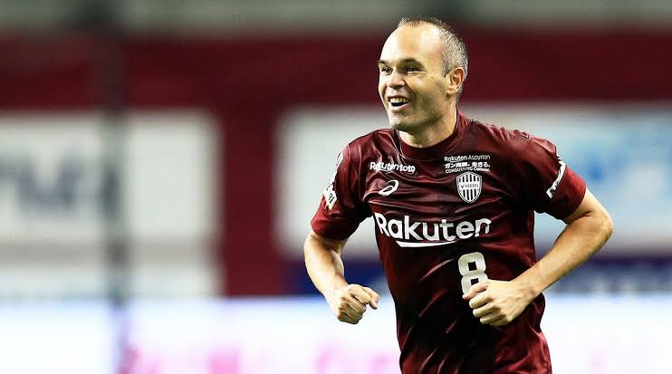 Image result for iniesta vissel kobe""