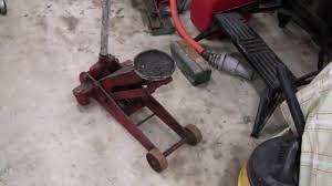 hydraulic floor jack repair part 1