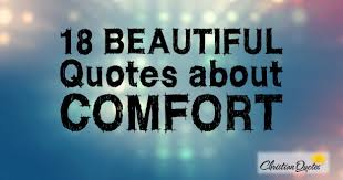 beautiful quotes about comfort info