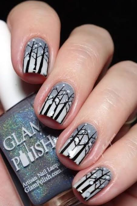 """Image result for Winter nailarts"""""""