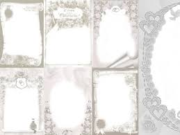 style wedding photo frame template psd