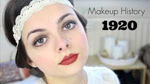 makeup history 1920 s you