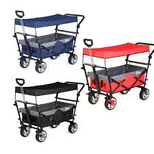 wagon cart garden folding collapsible