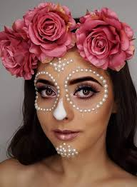 shows easy day of the dead makeup ideas