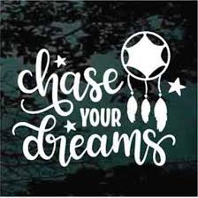 Decal Junky Chase Your Dreams Quote Decals