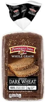 whole grain german dark wheat bread
