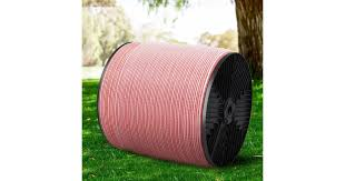 Dick Smith Giantz 1200m Electric Fence Wire Tape Poly Stainless Steel Temporary Fencing Kit Power Tools Accessories