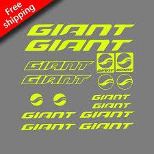 Giant Rack Sticker For Road Bike Mtb Mountain Bike Cycling Frame Paint Brm Sports