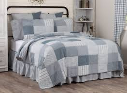 sawyer mill blue king quilt patchwork