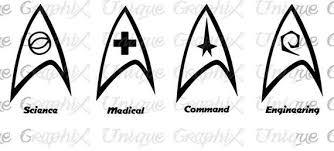 Star Trek Insignia Symbol Decal Macbook Laptop Window Car Sticker Star Trek Tattoo Star Trek Insignia Star Trek Party