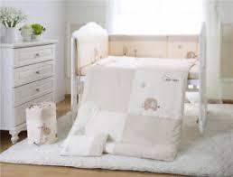 7pcs baby crib bedding set pers
