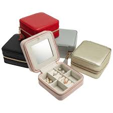 croft avenue travel jewelry case with