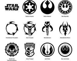 Star Wars Symbol Vinyl Decal Macbook Laptop Window Sticker Star Wars Symbols Star Wars Tattoo Star Wars Logo
