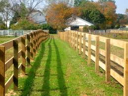 Wooden 3 Rail Horse Fence Traditional Landscape Baltimore By Ak Fencing