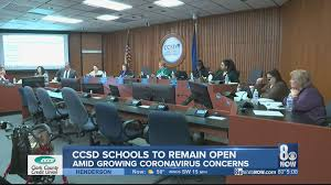 No CCSD school closures planned ...