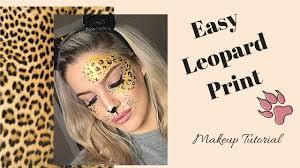 leopard face makeup easy saubhaya makeup